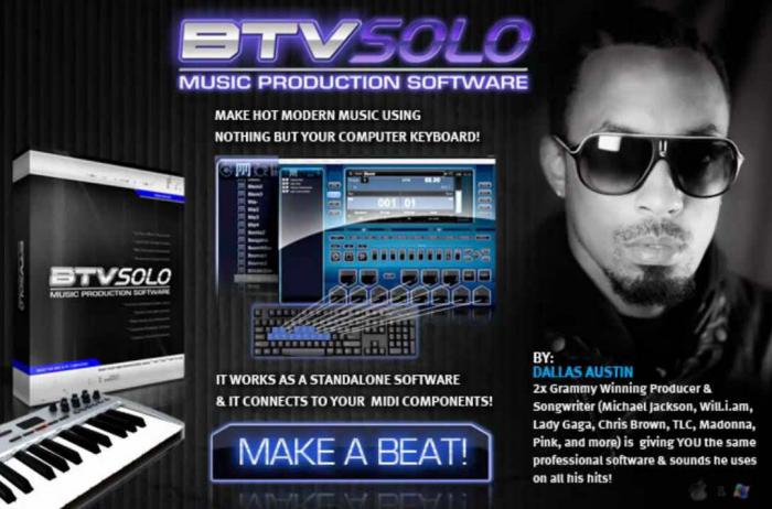 how to compose a song using BTV Solo